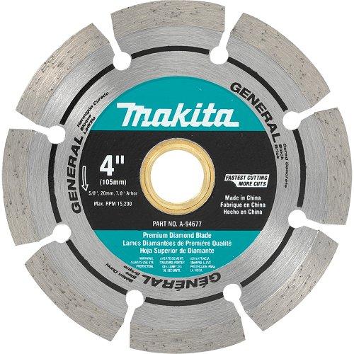Makita A-94677 4-Inch Segmented Rim Diamond Masonry Blade
