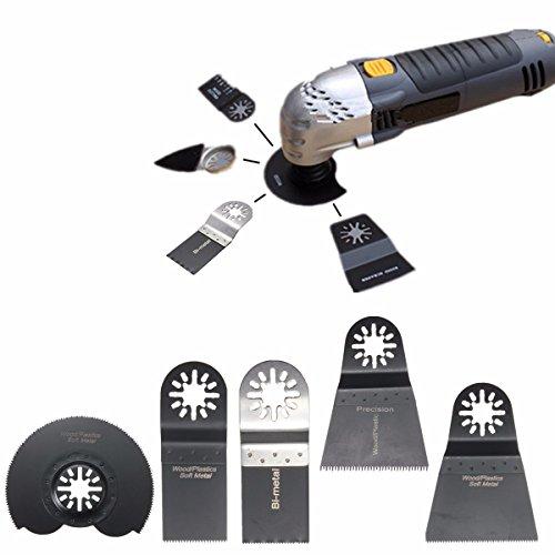 BABAN 5Pcs Oscillating Saw Blade Accessories kit Multitool