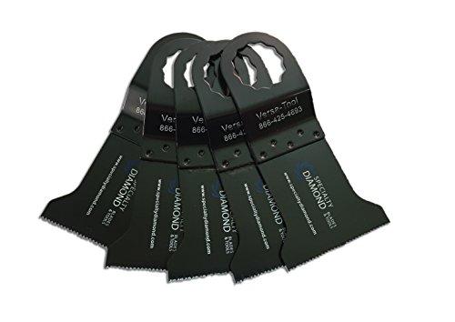 5 Pack Versa-Tool FB5A 1-34-Inch Wood Cutting Universal Oscillating Saw Blades Compatible Fein Supercut