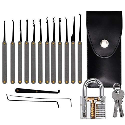 Set LocksStainless Steel Multitool Lock Set