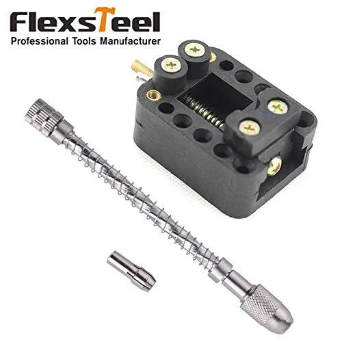 1 Set Hand Manual Drill Chuck Twsit Micro Drill Bit Pin ViceMini Walnut Vise Drill Stent Clip-on Clamp Jewelry Carving Tools Kit