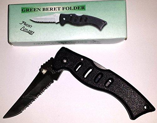Frost Green Beret Folder Pocket Knife