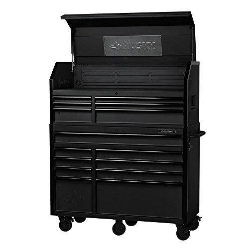 Husky 52 in 15-Drawer Industrial Tool Chest and Cabinet Combo H52CH6TR9HD