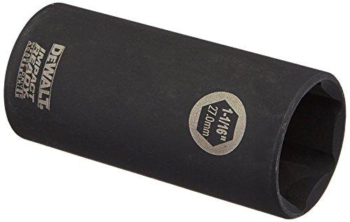 DEWALT DW22952 1-116-Inch IMPACT READY Deep Socket for 12-Inch Drive