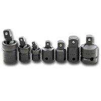 S K Hand Tools SKT4519 Impact Universal Socket-Adapter Set - 7 Pieces
