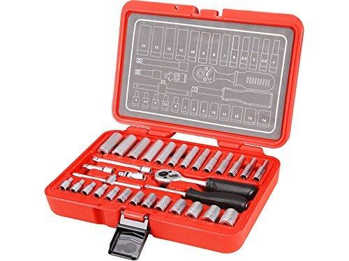 EXTOL PREMIUM 8818310 14-Inch Socket Wrench Set 32-Piece by Extol Premium