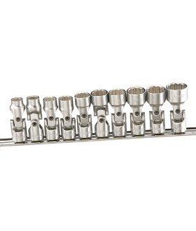 Genius 10 Piece 38 Dr 38 Dr Metric Universal Hand Socket Set GEN-US310