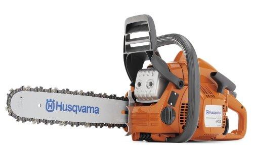 Husqvarna 440E 16-Inch 409cc 2-Stroke X-Torq Gas Powered Chain Saw