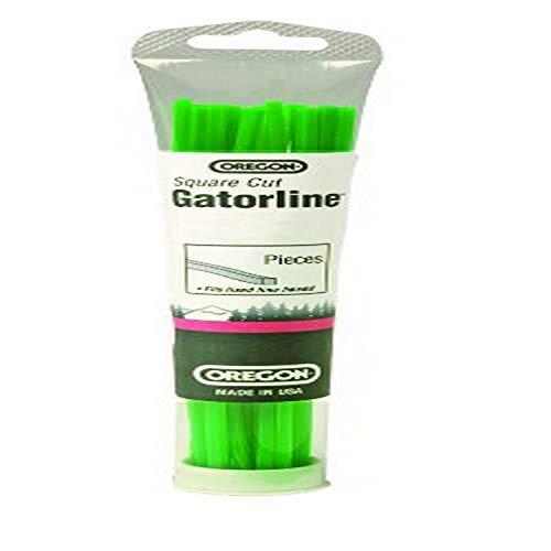 Oregon 19-005 Gatorline Square String Trimmer Line Precut 155-Inch Diameter x 18-Inch Length 24-Piece Tube