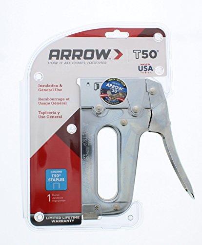 Arrow Fastener T50 Heavy Duty Staple Gun