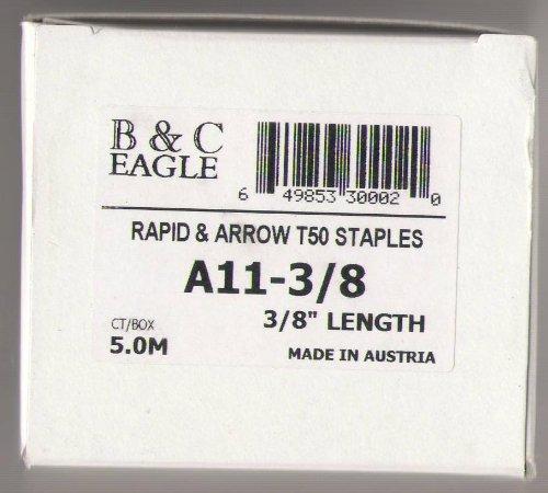 B C Eagle Rapid Arrow T50 Staples A11 - 38