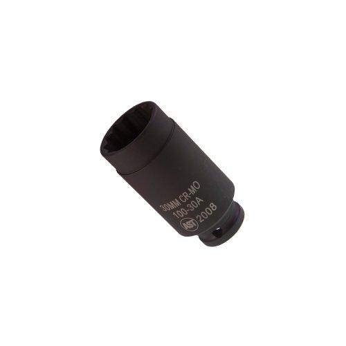 Assenmacher Specialty Tools 100-30 A 30mm 12 Drive Deep 30mm Socket