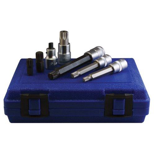 Assenmacher Specialty Tools 6300 12 Point SocketBit Set for VolkswagenPorsche - 7 Piece
