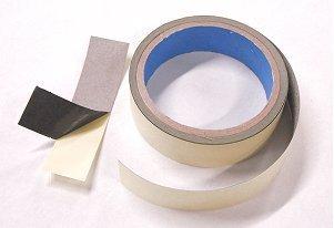 RF SHIELDED NICKEL-COPPER-COBALT TAPE  1 Wide X 25 Feet Long - RF Shielding Fabric Tape