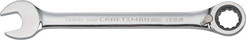 CRAFTSMAN Ratcheting Wrench Metric Reversible 19mm 72-Tooth 12-Point CMMT42430