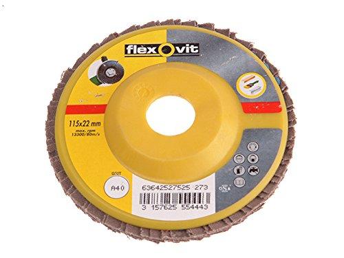 Flexovit Flap Discs For Grinders 125Mm 80G 1