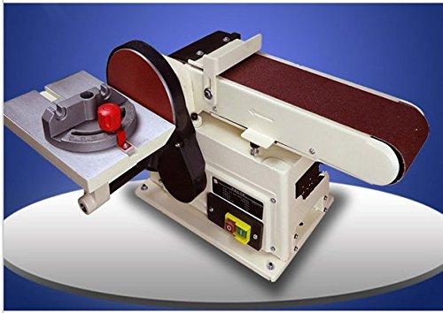 GOWE 100914mm Belt Sander 500w Bench Grinder 220-240v Woodworking 100mm Disc Grinder and Blet Sanding