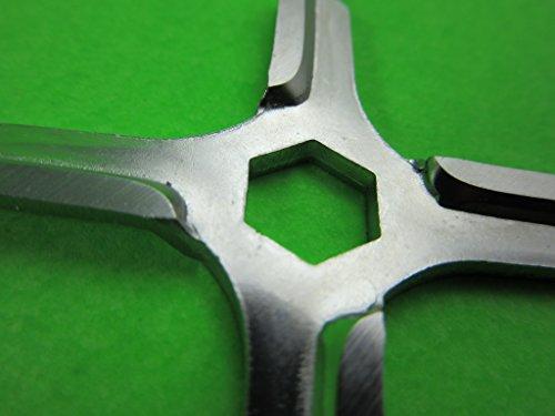 Free Shipping meat grinder blade spare parts fit MOULINEX HV3KRUPS F402