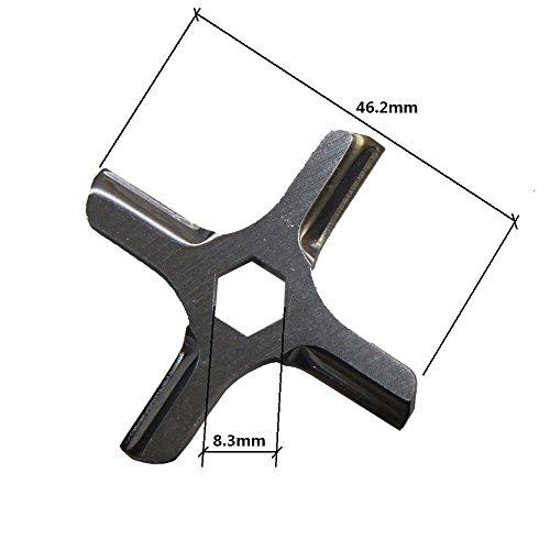 Free Shipping meat grinder blade spare parts fit MOULINEX HV3KRUPS F402 fit beko Moulinex