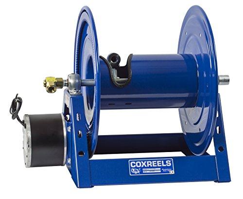 Coxreels 1125-4-500-E  Electric 12V DC 13HP Motor Rewind Hose Reel 12 ID 500 hose capacity less hose 3000 PSI