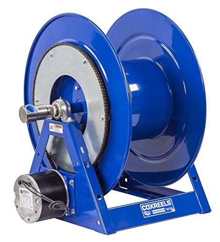 Coxreels 1175-6-150-ED Electric 12V DC Explosion Proof 12HP Motor Rewind Hose Reel 1 ID 150 hose capacity less hose 3000 PSI