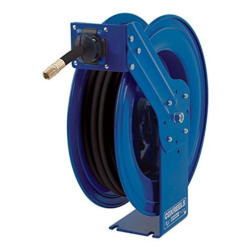 Coxreels MP-N-450 Heavy Duty Spring Rewind Hose Reel for airwateroil 12 ID 50 hose 2500 PSI