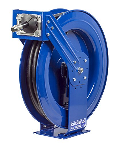 Coxreels TSH-N-550-DF-BBX Spring Rewind Hose Reel for DEF applications 34 ID 50 hose 300 PSI