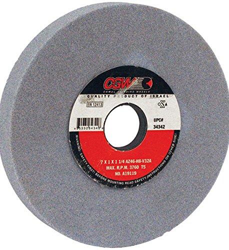 CGW-Camel 34366 AZ Surface Grinding Wheel - Size 8X 1X 1-14
