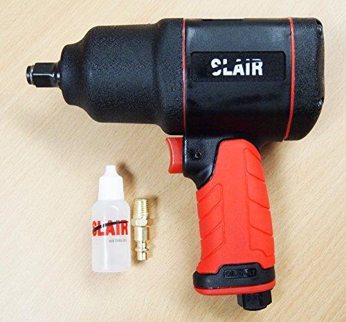 SLAIR 12 Composite Twin Hammer Air Impact Wrench Max Torque 1050ftlb XX-785