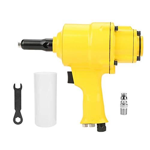 Industrial Pneumatic Riveter Double Cylinder Type Air Riveter Pneumatic Nail Gun Riveting Tool