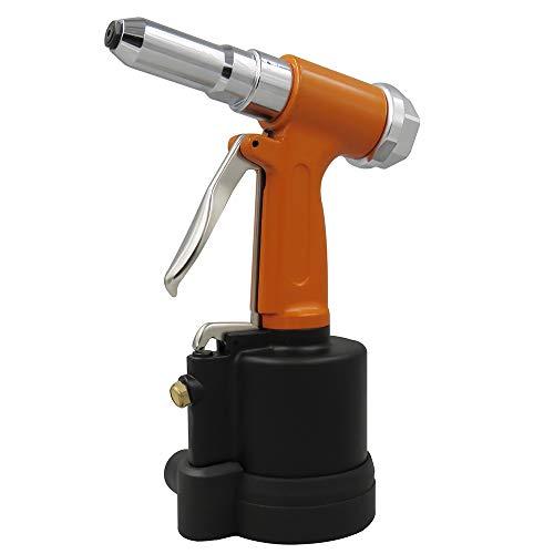 KKmoon Pneumatic Hydraulic Air Riveter Labor Saving Rivet Riveting Gun Nut Nail Insert Hand Tool With Wrench Set