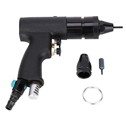 KP-737A Air Riveter PistolM3-M4 Pneumatic Rivet Nut Gun1500rpm Speedhas the Function of Self-lockingcan Assemble and Disassemble the Gun Head