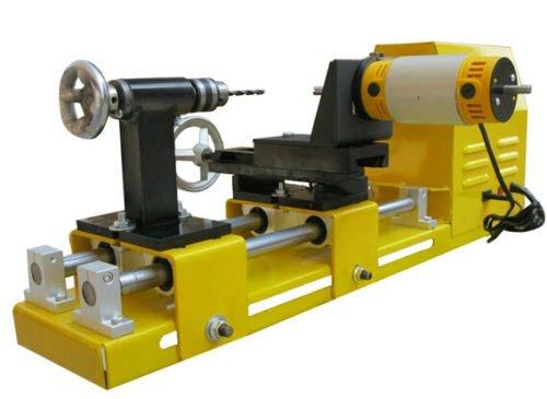 Multifunction 4 Jaw chuck Mini lathe Wooden bead machine Woodworking lathe 220V