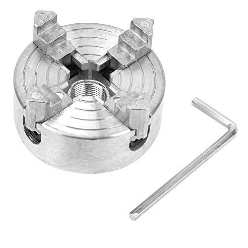 Z011A Lathe Chuck Set 4-Jaw Zinc Alloy Clamp Parts Accessory for Mini Metal Lathe