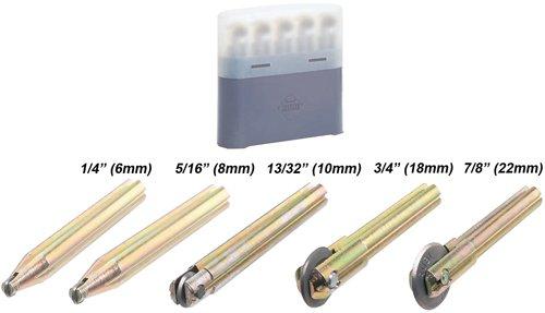 Rubi 5 pcs Wheel Kit TSTR Tile Cutter 6mm 8mm 10mm 18mm 22mm