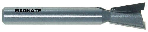 Magnate 455 10 Degree Dovetail Router Bit - 12 Cutting Diameter 58 Cutting Height