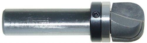 Magnate 7831 Bowl Tray Plunge Router Bits with Top Bearing - 14 Radius 34 Cutting Diameter