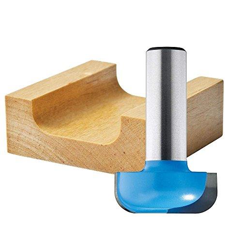 Dish Carving Router Bit 1 Diameter 14 Shank