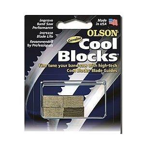 Olson Saw CB50050BL Imported 14-Inch Band Saw Accessory Cool Blocks by OLSON SAW