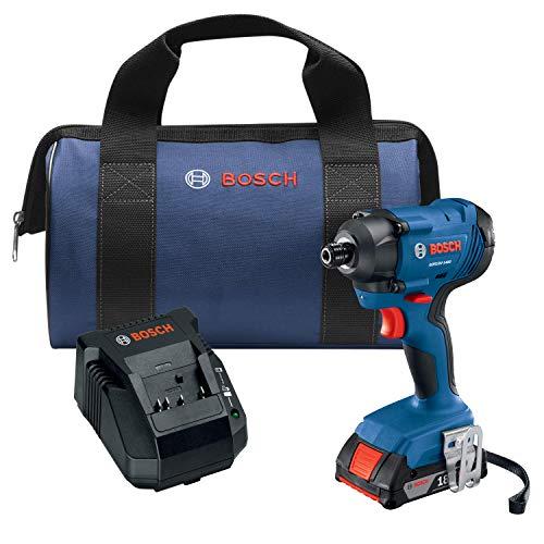 Bosch GDR18V-1400B12 18V 14 In Hex Impact Driver Kit
