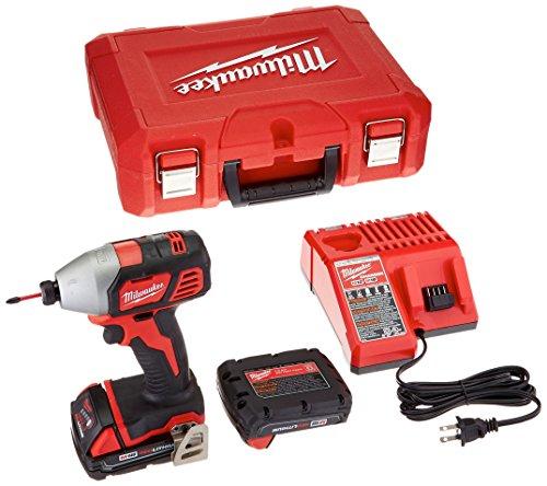 Milwaukee 2656-22CT M18 14 Hex Impact Driver Kit