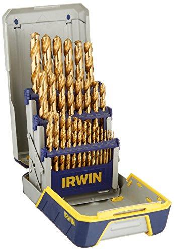 IRWIN Drill Bit Set Titanium-Nitride 29-Piece 3018003