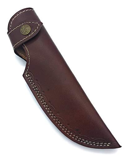 9 long handmade leather sheath For Fixed blade knife