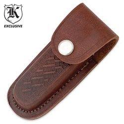 Leather 4 Folding Knife Sheath