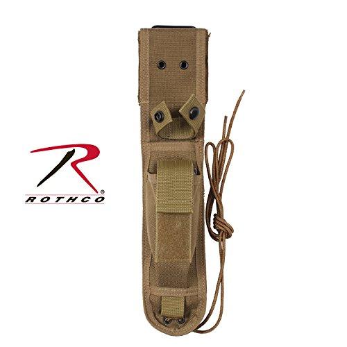 Rothco Enhanced Nylon Knife Sheath COYOTE Size