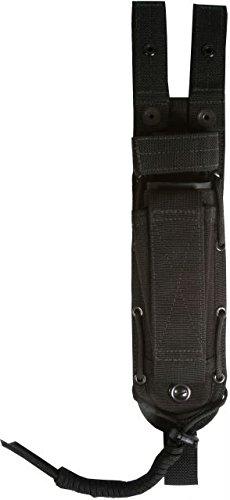 Spec-Ops Brand Combat Master Knife Sheath 6-Inch Blade Black Short