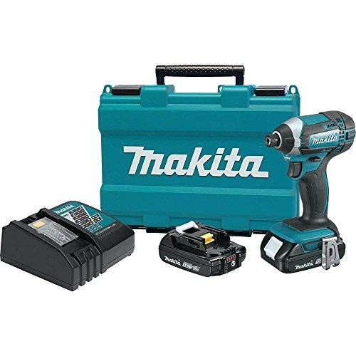 Makita XDT11R 18V Compact Lithium-Ion Cordless Impact Driver Kit Renewed