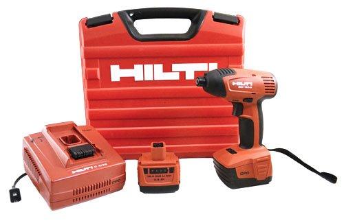 Hilti SID 144-A CPC 144 V Lithium Ion 14 Hex Impact Driver Set