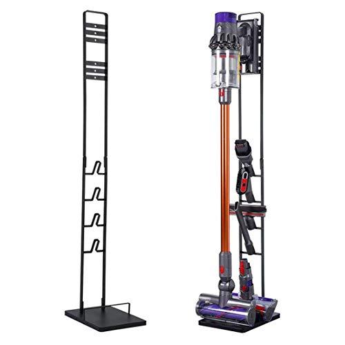 BORTENG Drill-Free Vacuum Docks Station Holder Stand for Dyson V11 V10 V8 V7 V6 Cordless Vacuum Cleaners Accessories Stable Metal Organizer Rack Black