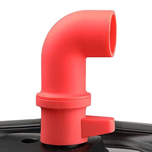 House Again CupboardsCabinets Savior Original Steam Release Accessory for Pressure Cooker - 360° Rotating Design to Adjust Direction Freely - Food-Safe Silicone Dishwasher Safe